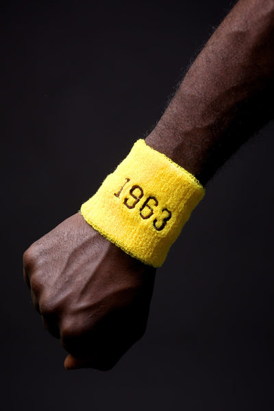 No Sweat wristband, 1963