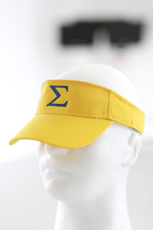 Σ visor, gold/blue