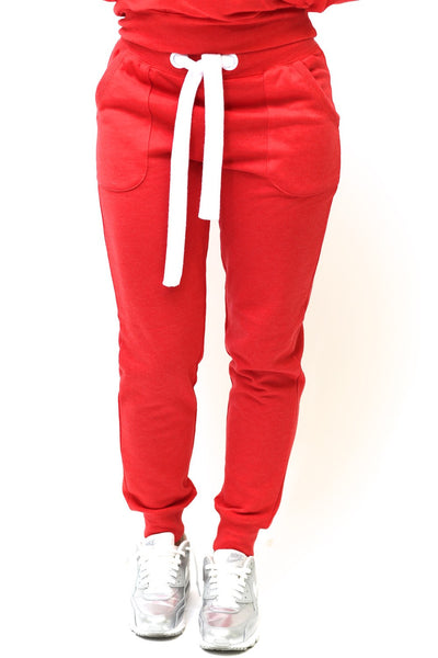 Strong Reds track suit joggers, red/white