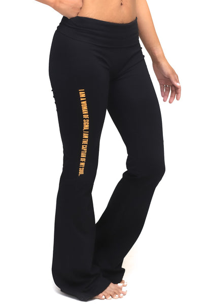 Invictus Lady of Sigma yoga pants, black