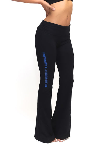 Invictus Lady of Zeta yoga pants, black