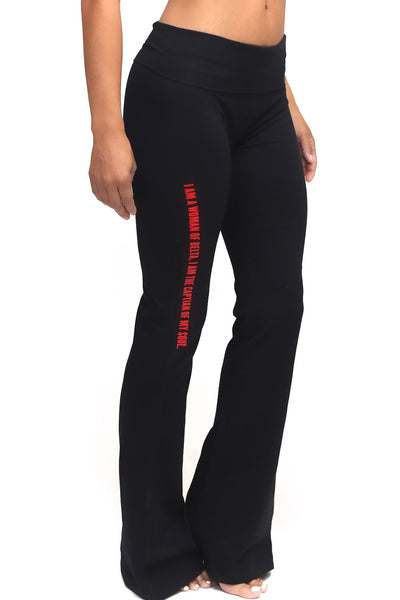 Invictus Lady of Delta yoga pants, black