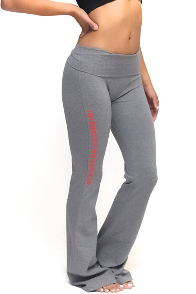 Invictus Lady of Delta yoga pants, grey