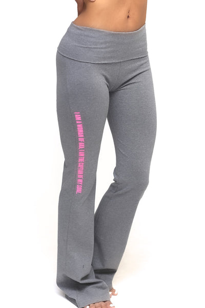Invictus Lady of AKA yoga pants, grey