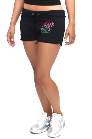 Cutie AKA sporty shorts, black