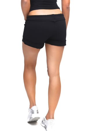 Cutie Zeta sporty shorts, black