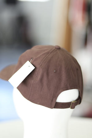 "The ""I"" of Iota polo dad hat, brown"