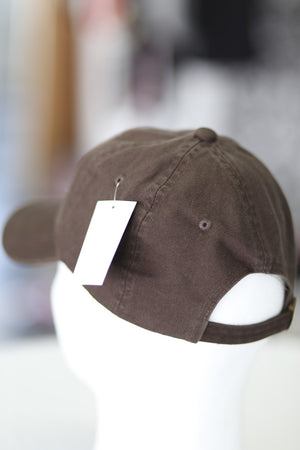 Iota Classic polo dad cap, brown