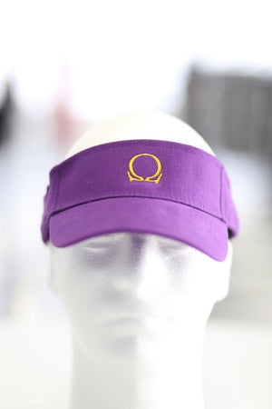 QUE visor, purple