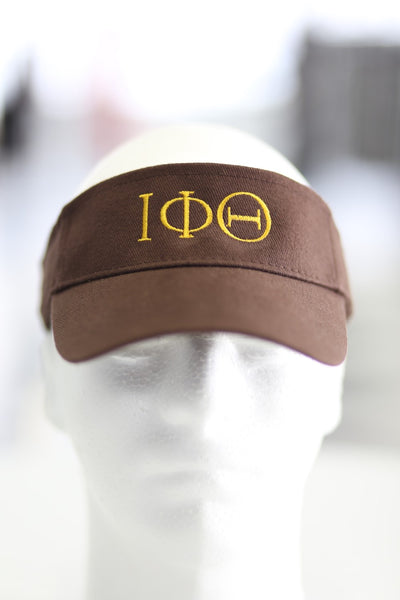 ΙΦΘ visor, brown