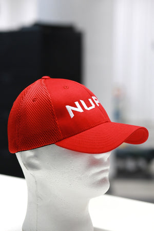 Transformers Nupe fitted sport cap, red