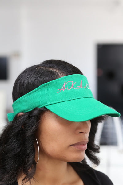 AKAs Golf visor, green