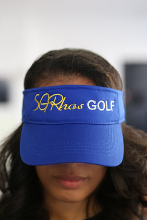 SGRhos Golf visor, blue