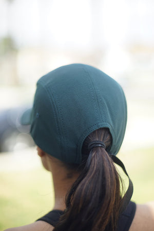 AKA FIT 5-Panel Dri-Fit/EvapoWEAR™ performance cap, dark green