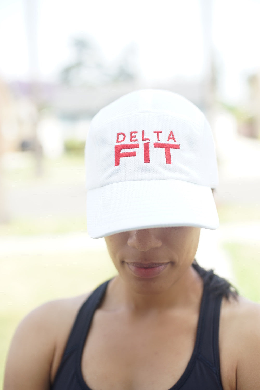 124d0d63dc43f Delta FIT 5-Panel Dri-Fit EvapoWEAR™ performance cap