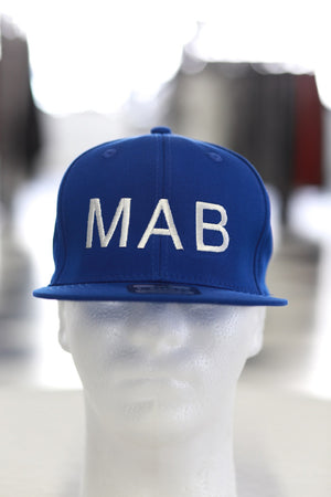 MAB fitted cap, blue
