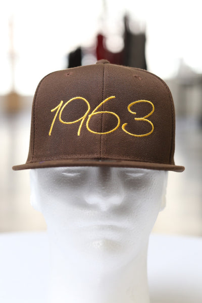 1963 Classic snapback, brown