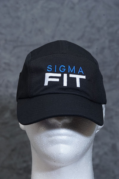 Sigma FIT 5-Panel Dri-Fit/EvapoWEAR™ performance cap, black