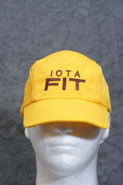 Iota FIT 5-Panel Dri-Fit/EvapoWEAR™ performance cap, gold