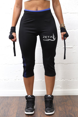 Strength Courage and ZETA POWER premium capris