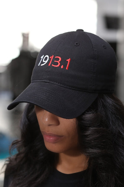 1913.1 Marathoners polo dad hat, black