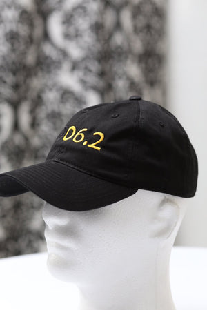 1906.2 10K polo dad hat, black