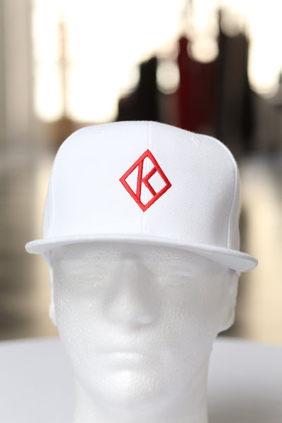 Diamond-K Klassic fitted cap, white