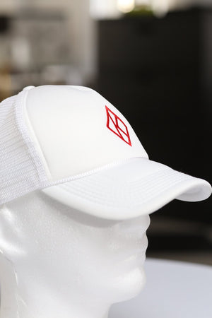 Diamond-K Klassic trucker, white