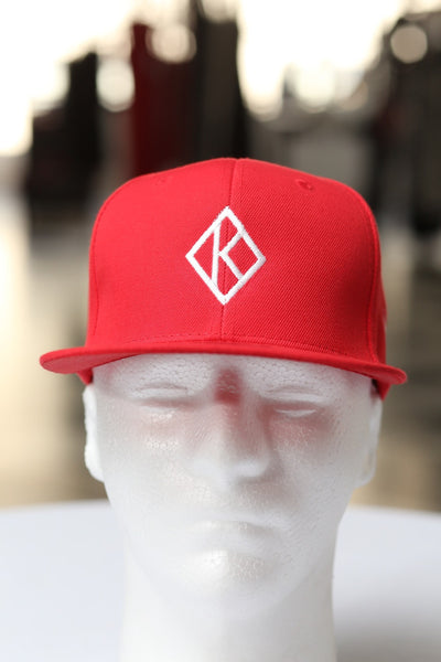 Diamond-K Klassic fitted cap, red