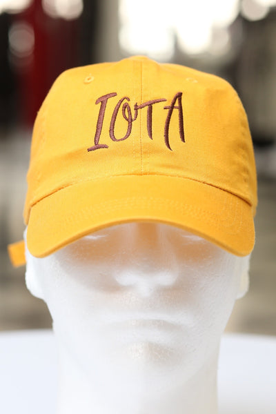 Iota Classic polo dad hat, gold