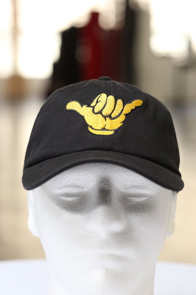 A-Phi-A polo dad hat, black