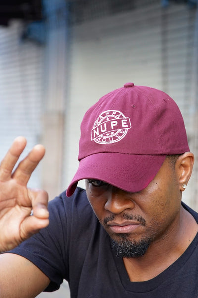 Kappa House Nupe, CERTIFIED polo dad hat, krimson