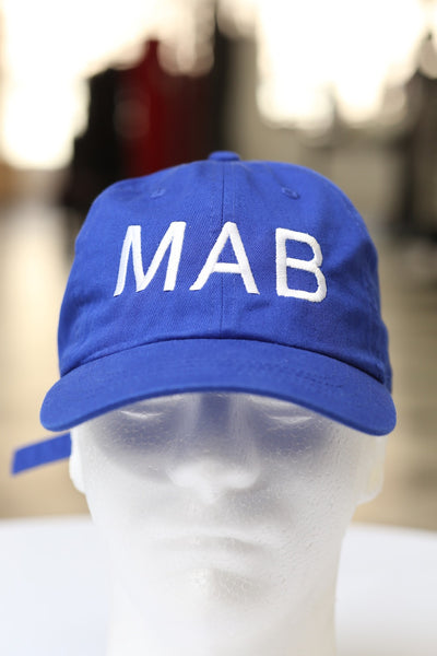 MAB polo dad hat, blue