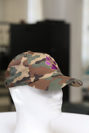 Dawg Pound polo dad hat, camouflage