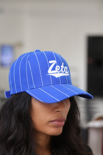 Ball Player Zeta cap, blue/white