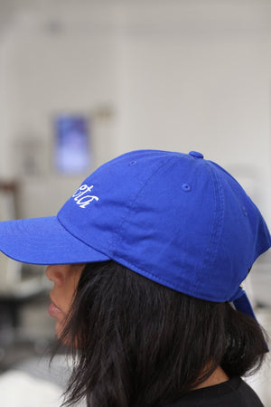 Soror Zeta polo dad hat, blue