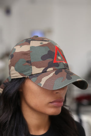 ∆ polo dad hat, camouflage
