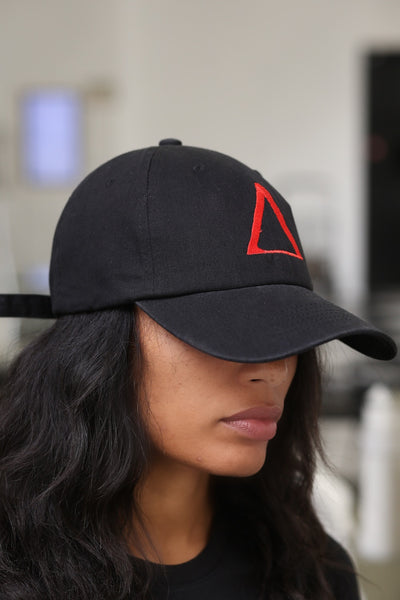 ∆ polo dad hat, black