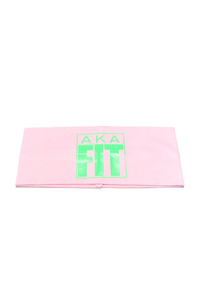 FIT AKA Bondi Band extra-wide, light-pink/green