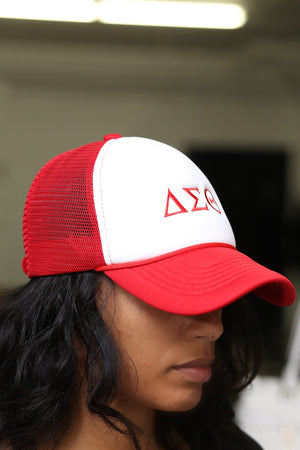 ΔΣΘ Southern Girl trucker, red blend