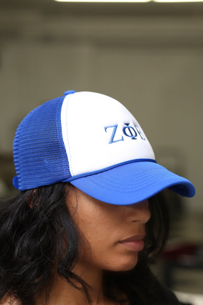 ΖΦΒ Southern Girl trucker, blue blend