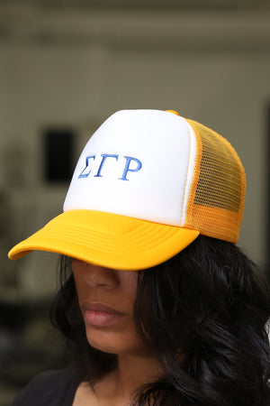 ΣΓΡ Southern Girl trucker, gold blend