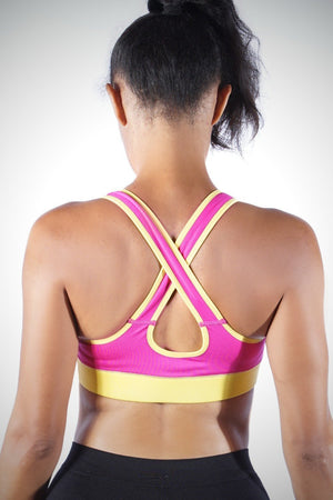 Sunset Candy sports bra