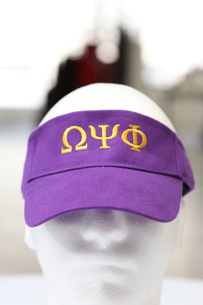 ΩΨΦ visor, purple