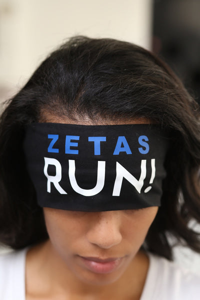 ZETAS RUN Bondi Band extra-wide, black
