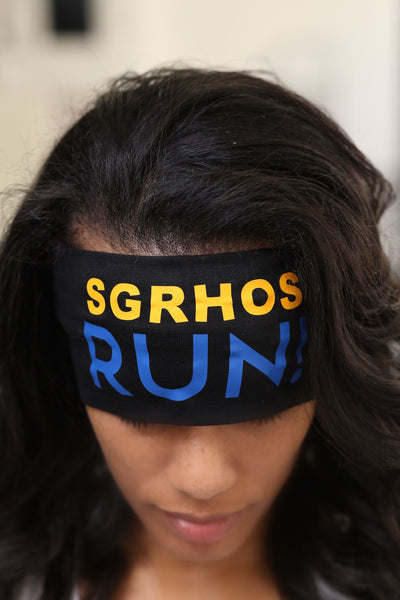 SGRHOs RUN Bondi Band extra-wide, black