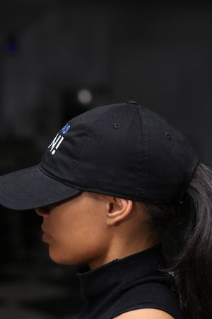 Zetas RUN polo dad hat, black