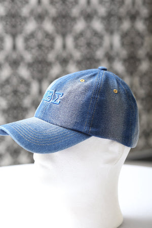 My ΦΒΣ Jeans polo dad cap, light denim