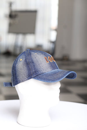 My ΙΦΘ Jeans polo dad hat, dark denim