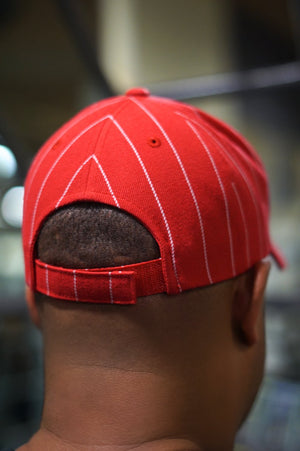 Ball Player Kappa cap, red/white